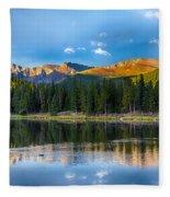Echo Lake 5 Fleece Blanket