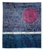 Eclipse Original Painting Fleece Blanket