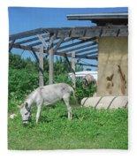 Ecological Farm Fleece Blanket