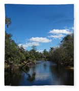 Econlockhatchee River Fleece Blanket