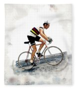 Eddie Merckx #2 Fleece Blanket