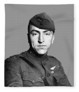 Eddie Rickenbacker Fleece Blanket