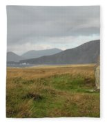 Edge Of The World Fleece Blanket