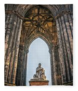 Edinburgh Sir Walter Scott Monument Fleece Blanket