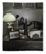 Edison's Summer Home 0434 Fleece Blanket