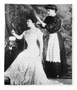 Edith M. Kingdon (1864-1921) Fleece Blanket