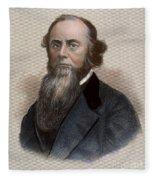Edwin M. Stanton Fleece Blanket