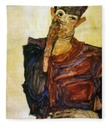 Egon Schiele (1890-1918) Fleece Blanket