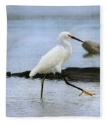 Egret Step Fleece Blanket