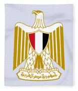Egypt Coat Of Arms Fleece Blanket