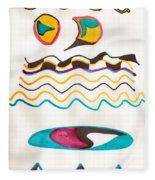 Egyptian Design Fleece Blanket