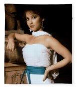 Egyptian Goddess Fleece Blanket