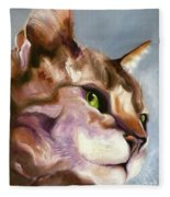 Egyptian Mau Princess Fleece Blanket