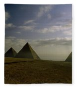 Egyptian Sunrise Fleece Blanket
