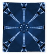 Eiffel Art 17 Fleece Blanket