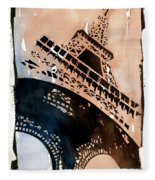Eiffel IIi Fleece Blanket
