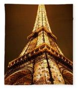 Eiffel Fleece Blanket