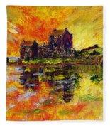 Eilean Donan Fleece Blanket