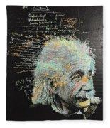 Einstein Fleece Blanket