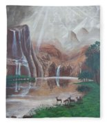 El Capitan Falls Fleece Blanket