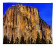 El Capitan Mountain Fleece Blanket