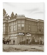 El Carmelo Bakery Lighthouse And Forest Ave. Circa 1890 Fleece Blanket