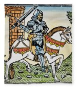 El Cid Campeador (1040?-1099) Fleece Blanket