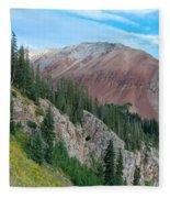 El Diente Peak Fleece Blanket