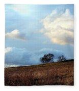 El Dorado Hills Skyscape Fleece Blanket
