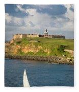 El Morro - San Juan Fleece Blanket