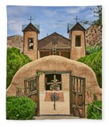 El Santuario De Chimayo #2 Fleece Blanket