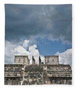 El Templo De Las Columnas  1 Fleece Blanket