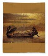 Elaine John Atkinson Grimshaw Fleece Blanket