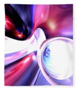 Elation Abstract Fleece Blanket