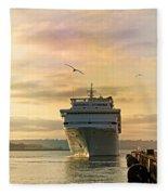 Elation - Leaving For A Cruise Fleece Blanket