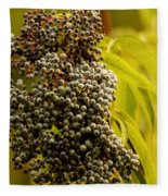 Elderberry Fleece Blanket