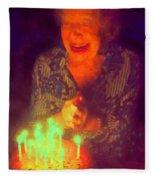 Elderly Joy Fleece Blanket