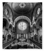 Eldridge Street Synagogue Fleece Blanket
