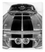 Eleanor Ford Mustang Fleece Blanket