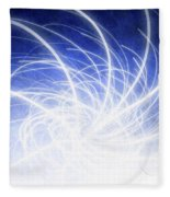 Electric Beams Fleece Blanket