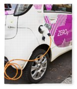 Electric Car Fleece Blanket