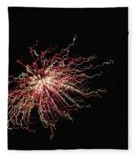 Electric Galaxy Fleece Blanket
