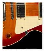 Electric Guitar 4 Fleece Blanket