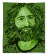 Electric Jerry Olive - T-shirts-etc Fleece Blanket