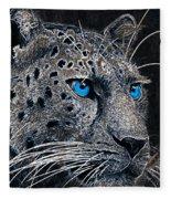 Electric Leopard Fleece Blanket