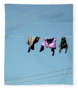 Electric Sky  Fleece Blanket
