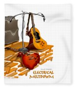 Electrical Meltdown Se Fleece Blanket