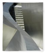 Elegance Of Steel And Concrete Fleece Blanket