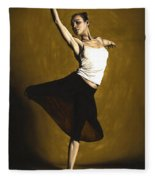 Elegant Dancer Fleece Blanket