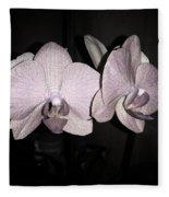 Elegant Orchid Fleece Blanket